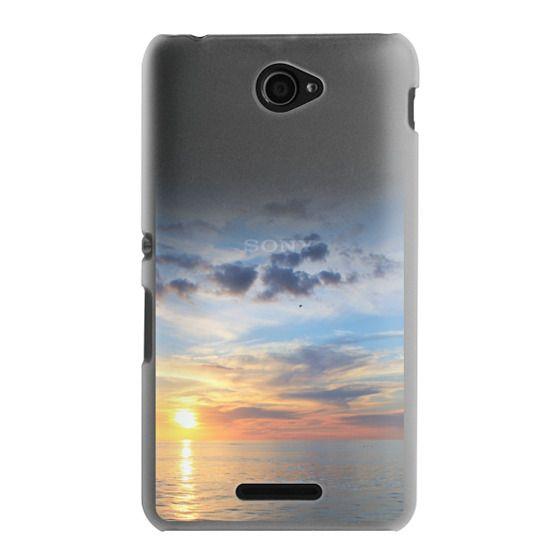 Sony E4 Cases - Ocean Sunset