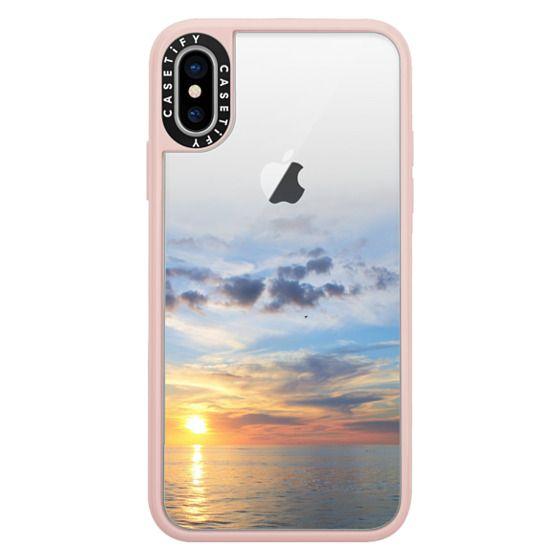 iPhone X Cases - Ocean Sunset