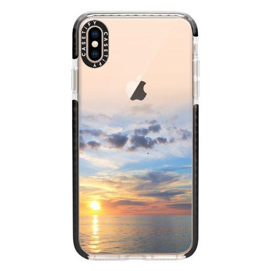 iPhone XS Max Cases - Ocean Sunset