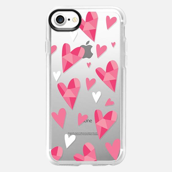 Hearts - Classic Grip Case