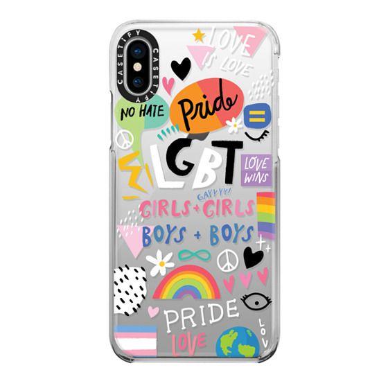 iPhone X Cases - PRIDE