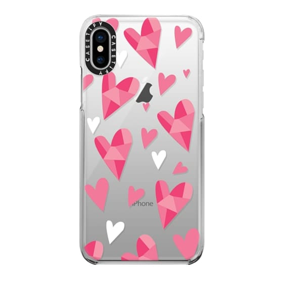 iPhone X Cases - Hearts