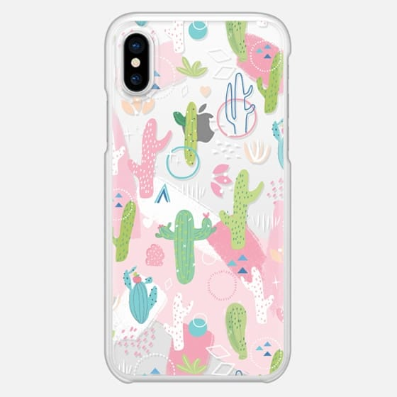 Cactus with Pink