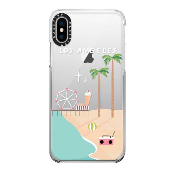 iPhone X Cases - Los Angeles