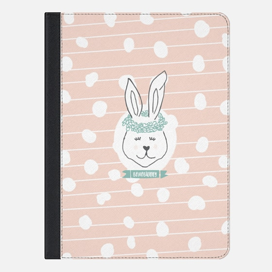 Boho Bunny - iPad Folio Case