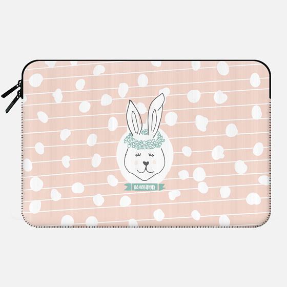 Boho Bunny - Macbook Sleeve