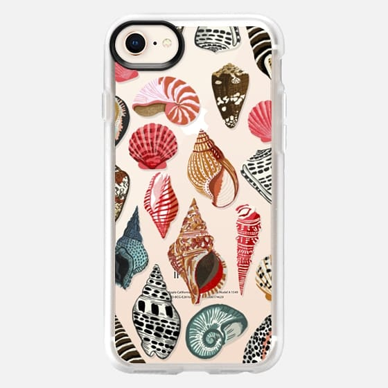 Seashells phone case, seashells iphone7 case, seashell clear case - Snap Case