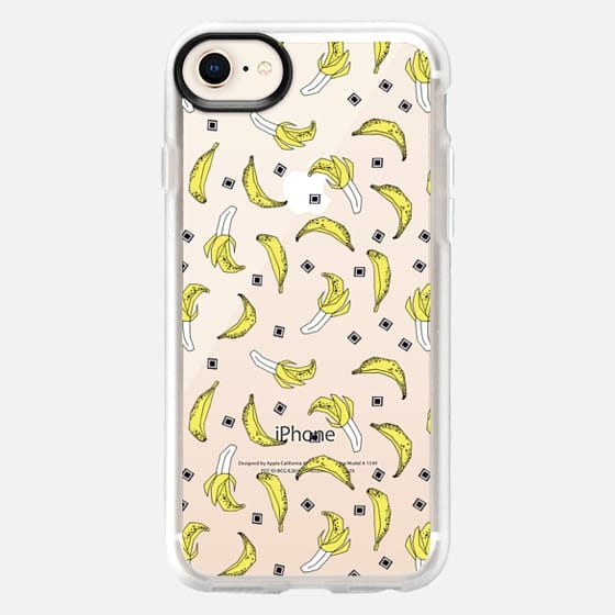 Bananas - Transparent - Snap Case
