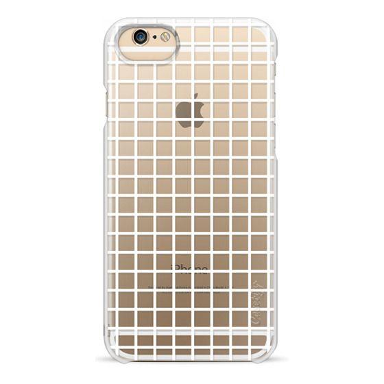 the best attitude 2d22d 57292 Wood iPhone 6 Case - Clear Grid iPhone Case by Andrea Lauren
