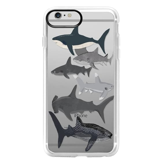 iPhone 6 Plus Cases - Sharks iphone7 case, shark week phone case, sharks phone clear case
