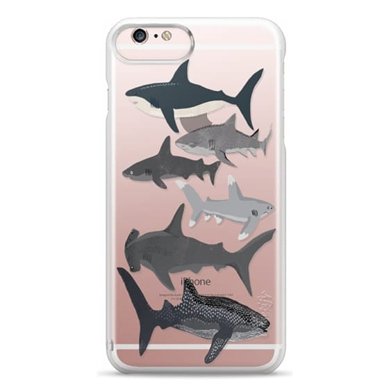 iPhone 6s Plus Cases - Sharks iphone7 case, shark week phone case, sharks phone clear case
