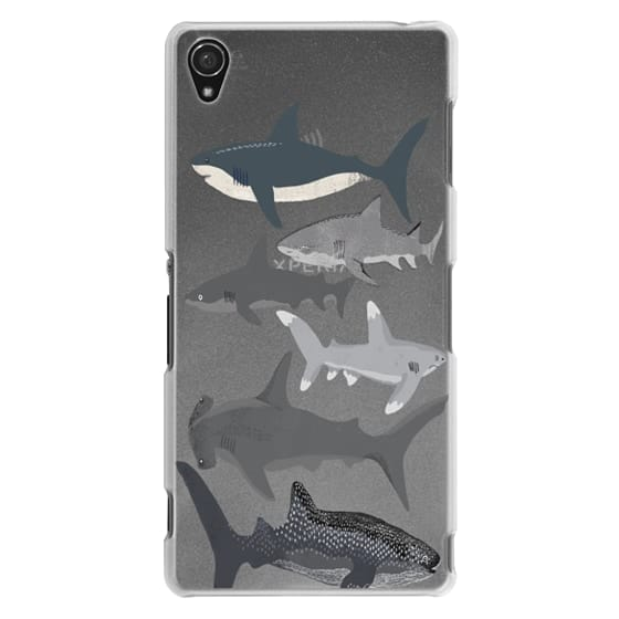 Sony Z3 Cases - Sharks iphone7 case, shark week phone case, sharks phone clear case