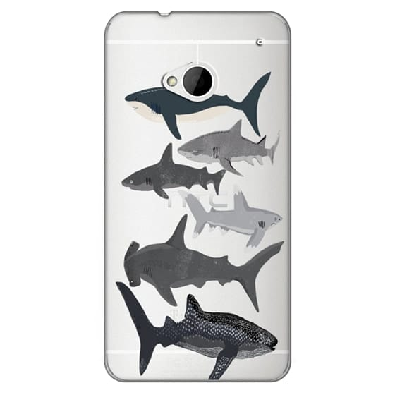 Htc One Cases - Sharks iphone7 case, shark week phone case, sharks phone clear case