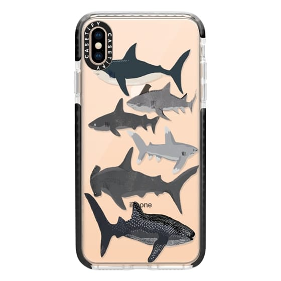 iPhone XS Max Cases - Sharks iphone7 case, shark week phone case, sharks phone clear case