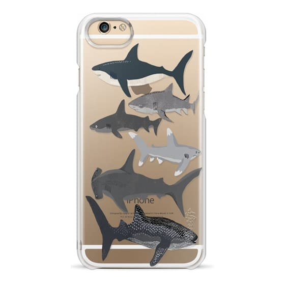 iPhone 6 Cases - Sharks iphone7 case, shark week phone case, sharks phone clear case