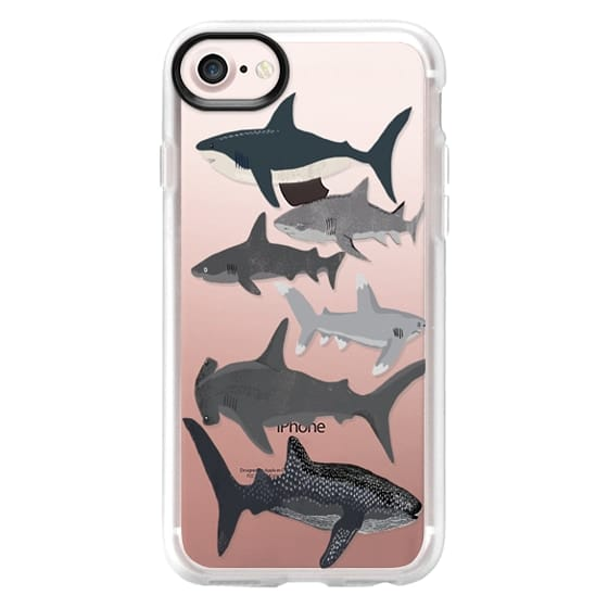 iPhone 7 Cases - Sharks iphone7 case, shark week phone case, sharks phone clear case