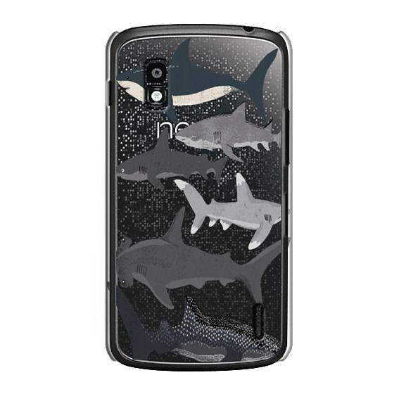 Nexus 4 Cases - Sharks iphone7 case, shark week phone case, sharks phone clear case