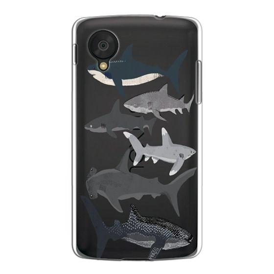 Nexus 5 Cases - Sharks iphone7 case, shark week phone case, sharks phone clear case