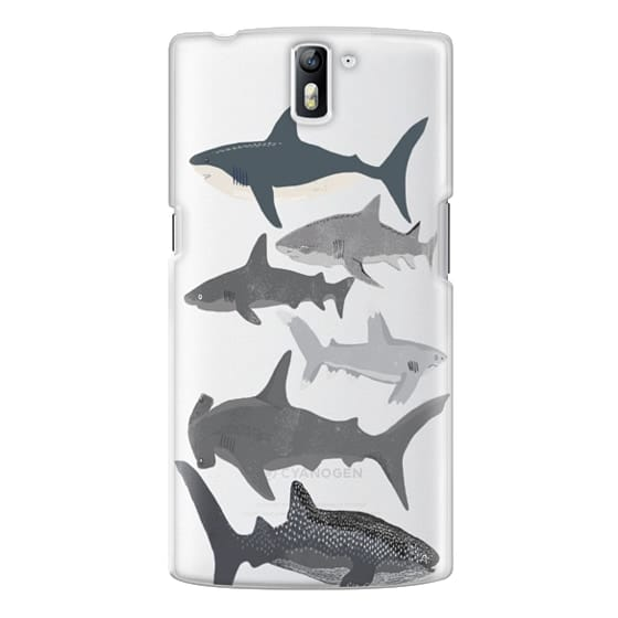 One Plus One Cases - Sharks iphone7 case, shark week phone case, sharks phone clear case