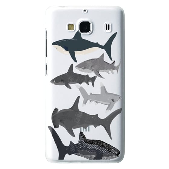 Redmi 2 Cases - Sharks iphone7 case, shark week phone case, sharks phone clear case
