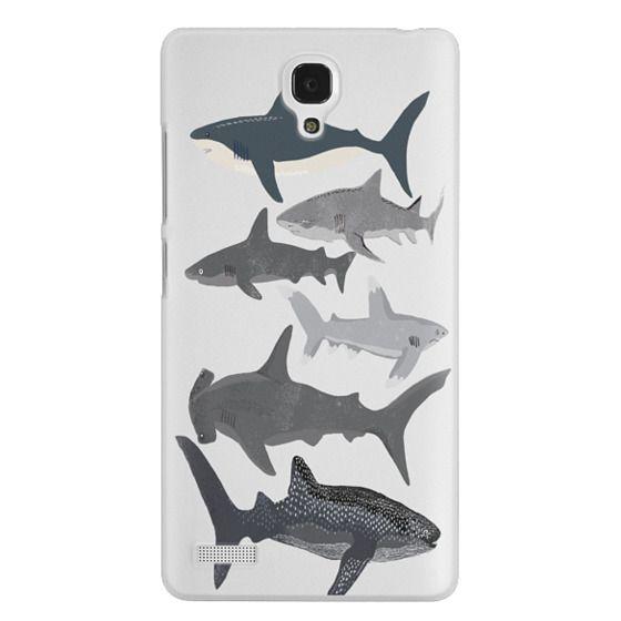 Redmi Note Cases - Sharks iphone7 case, shark week phone case, sharks phone clear case