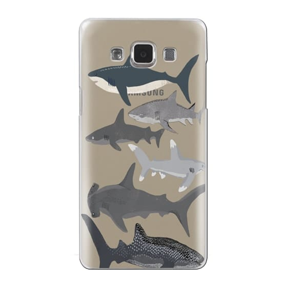 Samsung Galaxy A5 Cases - Sharks iphone7 case, shark week phone case, sharks phone clear case