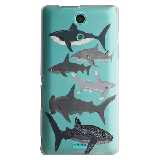 Sony Zr Cases - Sharks iphone7 case, shark week phone case, sharks phone clear case