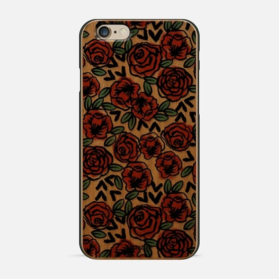 Love Roses classic gift idea for valentines day pattern design for loved one transparent cell phone case for her - New Standard Case