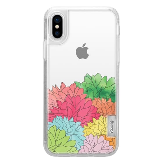 iPhone X Cases - Hydrangea Haven Summer