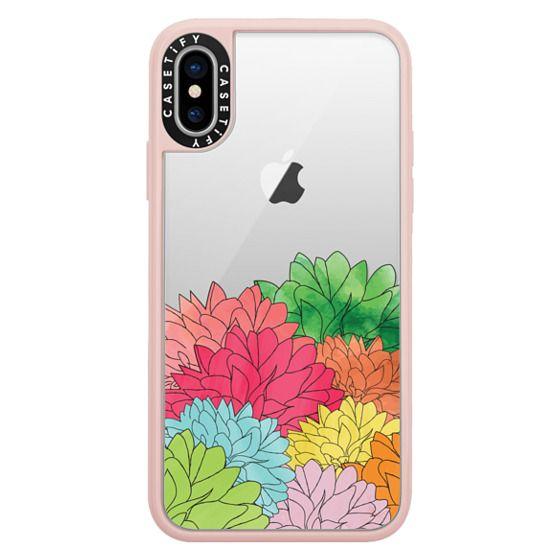 iPhone X Cases - Hydrangea Haven Summer