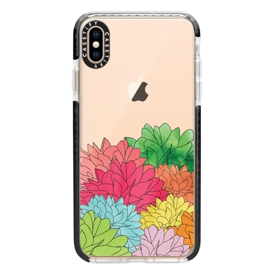 iPhone XS Max Cases - Hydrangea Haven Summer