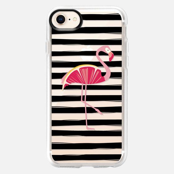 Citrus Flamingo - Grapefruit - Snap Case