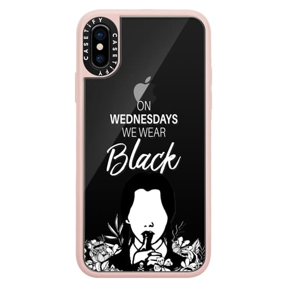 iPhone X Cases - On Wednesdays We Wear Black