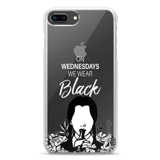 iPhone 8 Plus Cases - On Wednesdays We Wear Black