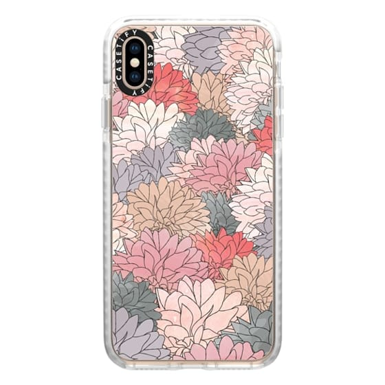 iPhone XS Max Cases - Hydrangea Haven Full Bloom