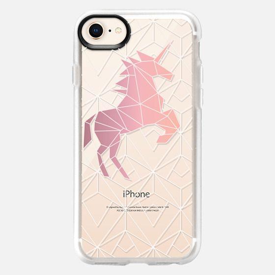 Geometric Unicorn - Snap Case