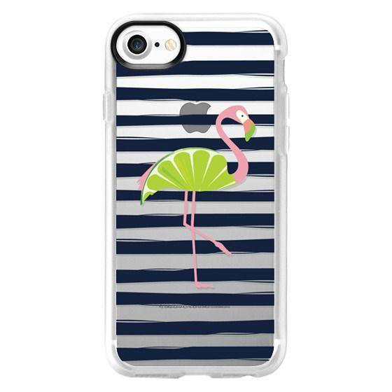 iPhone 7 Cases - Citrus Flamingo - Lime