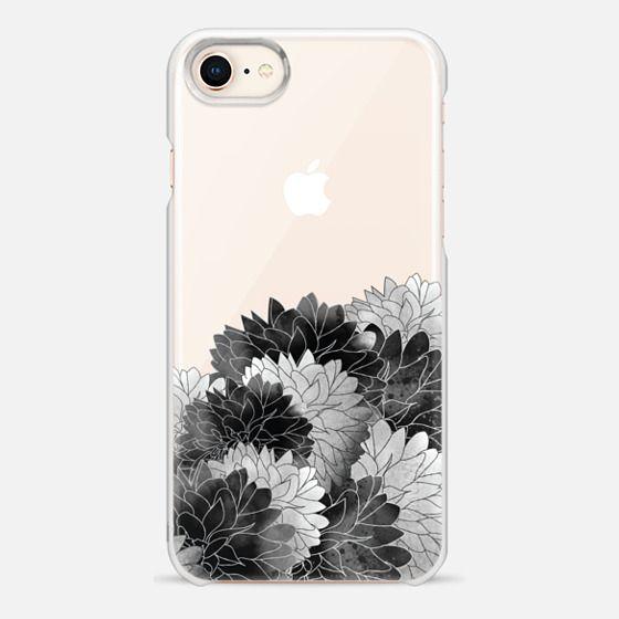 Hydrangea Haven Noir - Snap Case