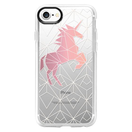 iPhone 7 Cases - Geometric Unicorn