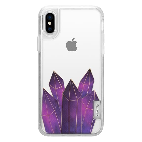 iPhone X Cases - Crystal Luxe