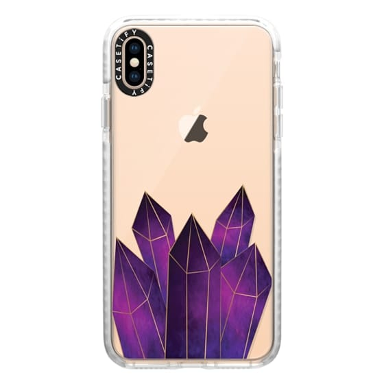 iPhone XS Max Cases - Crystal Luxe