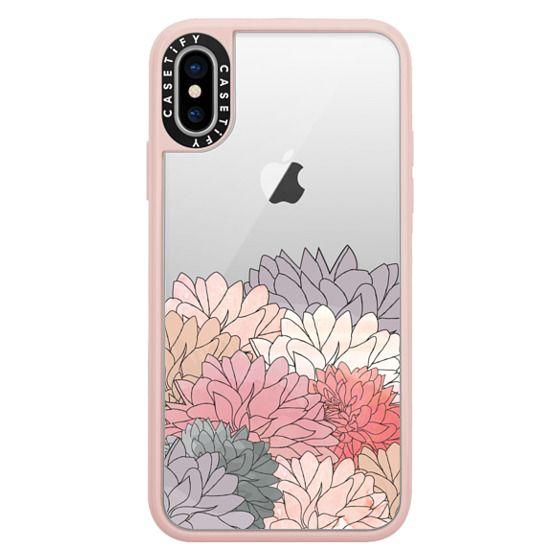 iPhone X Cases - Hydrangea Haven