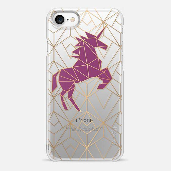 Geometric Unicorn - Gold Luxe