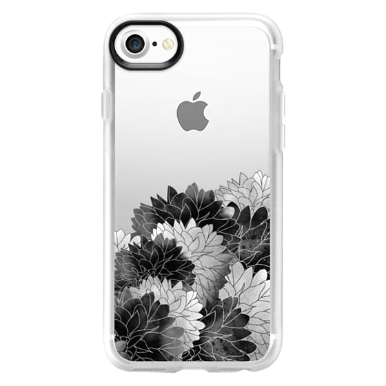iPhone 7 Cases - Hydrangea Haven Noir