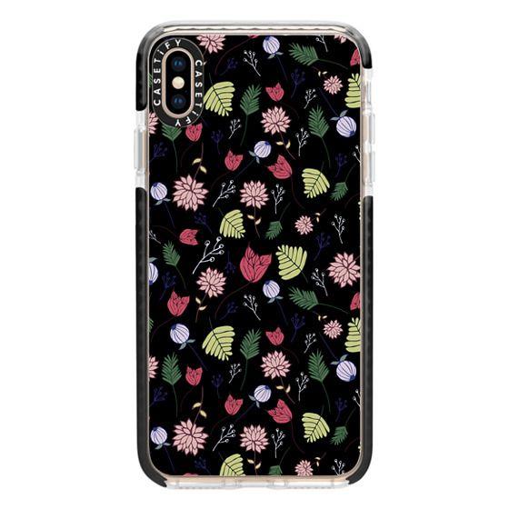 iPhone XS Max Cases - Dark Floral