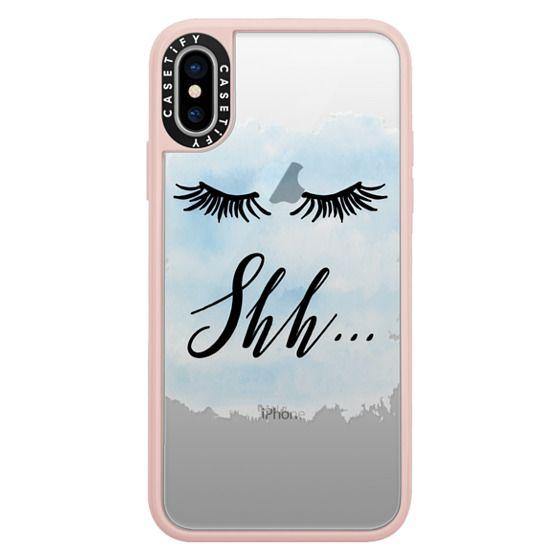 iPhone X Cases - Be Quiet