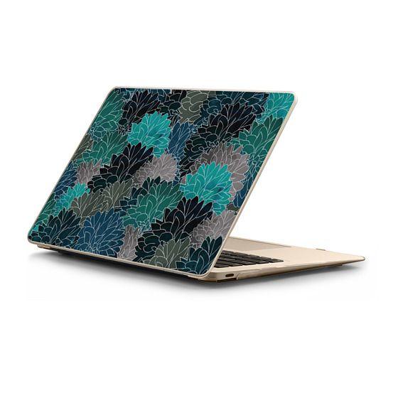 MacBook 12 Sleeves - Hydrangea Haven Emerald