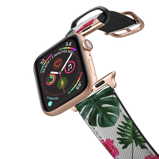 Apple Watch 38mm Bands - Pressed Floral Tropical