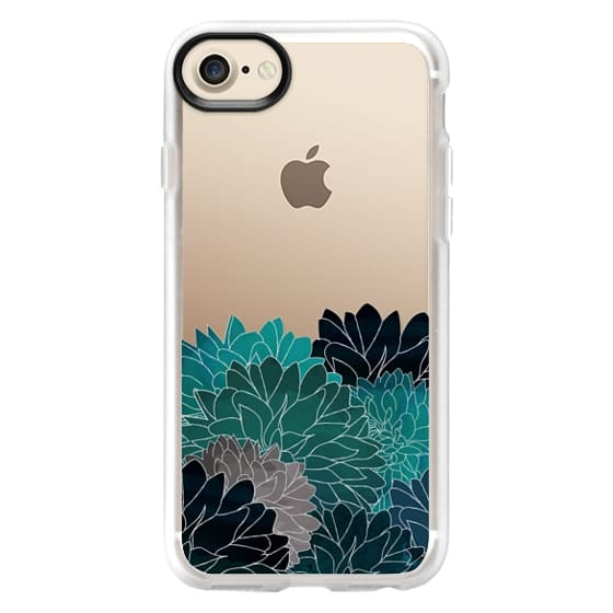 iPhone 7 Cases - Hydrangea Haven Emerald
