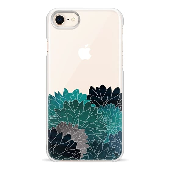 iPhone 8 Cases - Hydrangea Haven Emerald